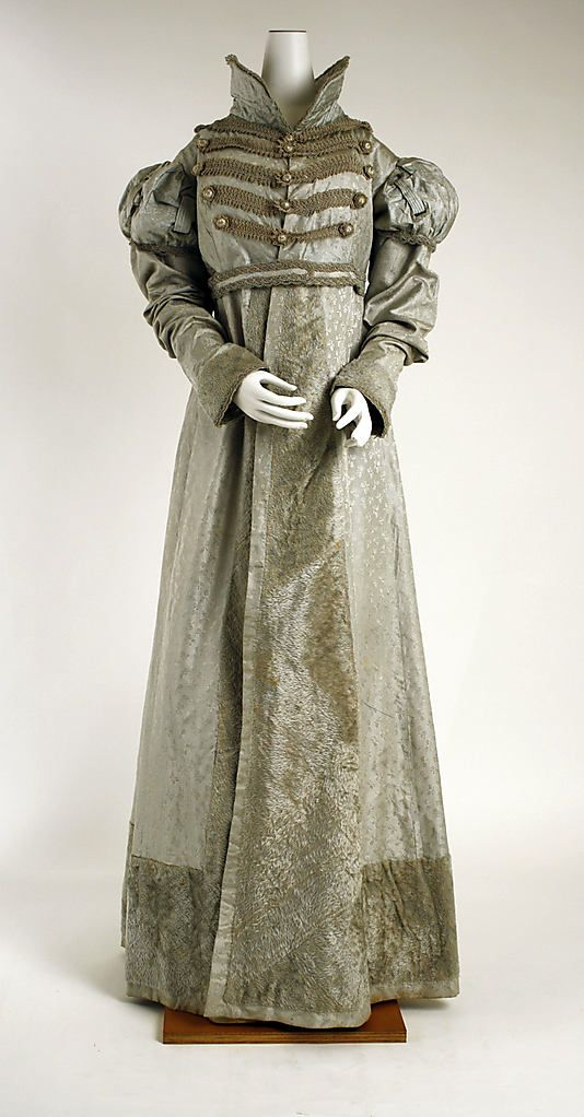 Dress (Pelisse)  Date: ca. 1820