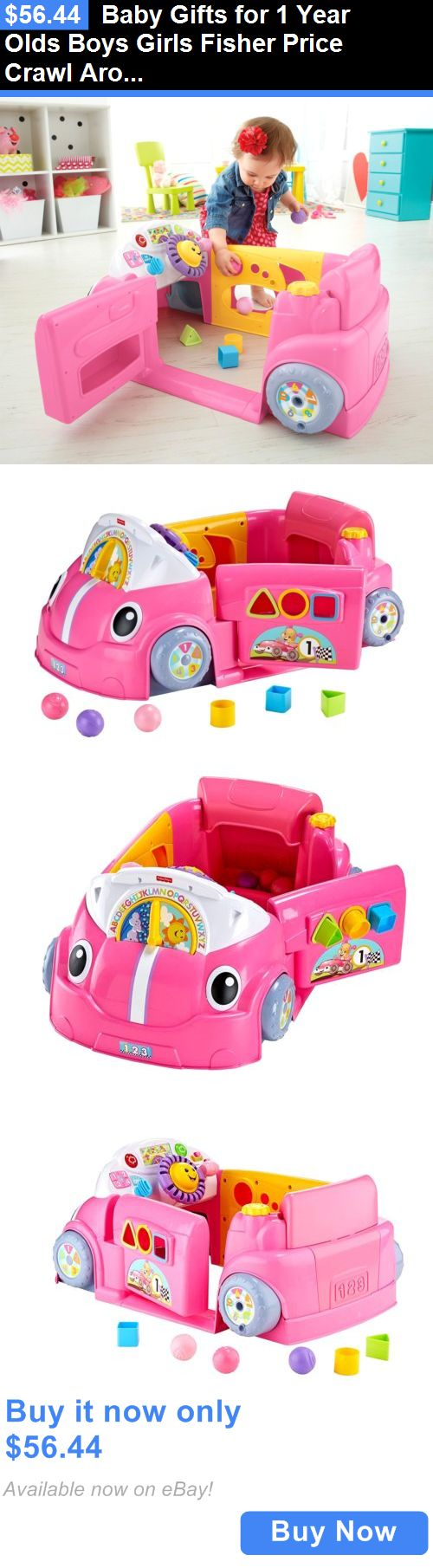 Baby Gifts For 1 Year Olds Boys Girls Fisher Price Crawl Around Car Toddler