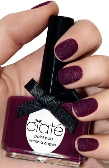 Ciaté 'Velvet Manicure - Berry Poncho' Set from Nordstrom.com  To die for! So beautiful nailpolish.
