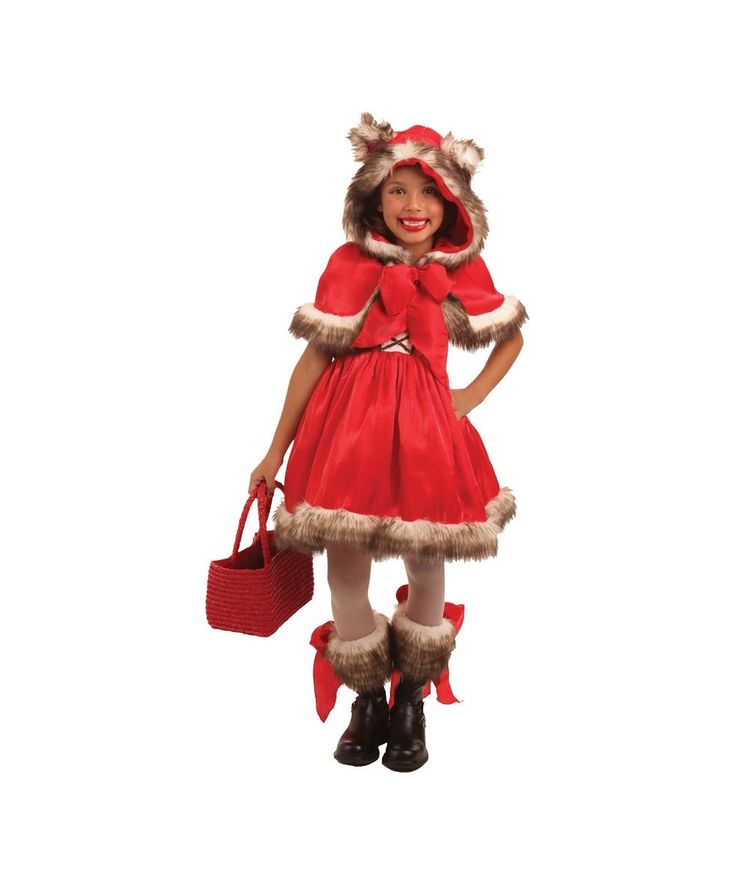 little red riding hood costume kids wolf halloween fancy dress - Wolf Halloween Costume Kids