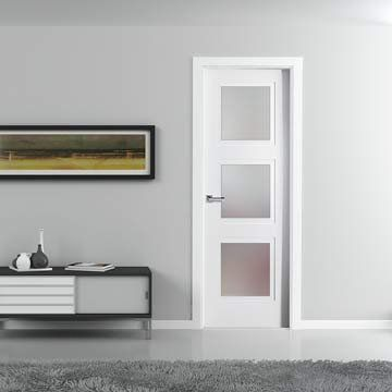 17 best images about sanrafael lifestyle glass doors on pinterest models stains and glass design - Finished white interior doors ...