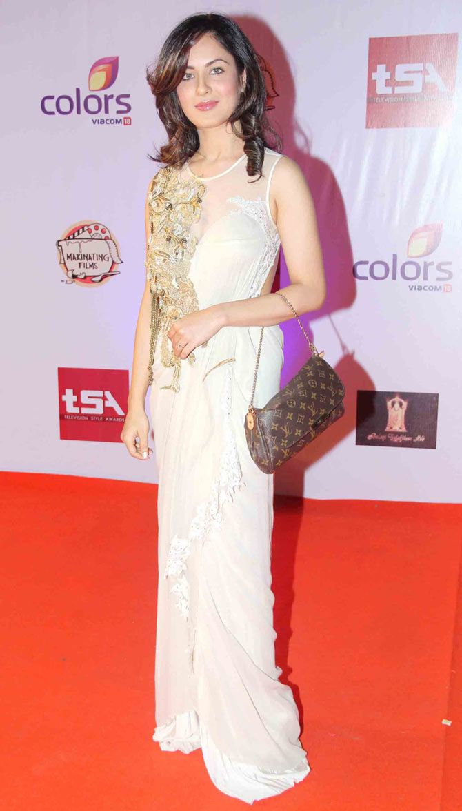 Pooja Banerjee at the Television Style Awards. #Bollywood.