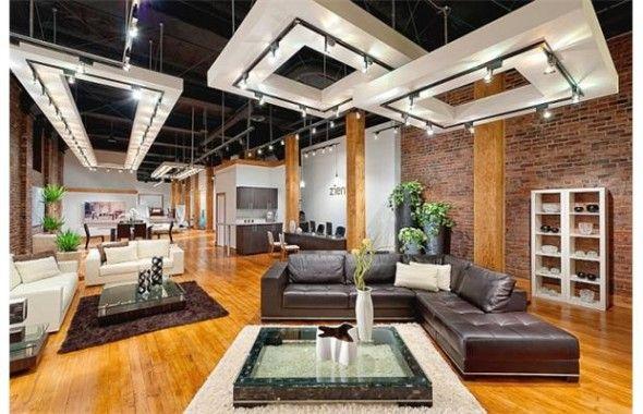 Open Ceiling Exposed Ductwork Design Idea Zientte