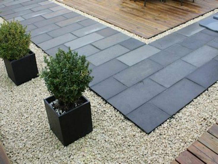 13 best images about paving driveway on pinterest for Blue slate garden designs