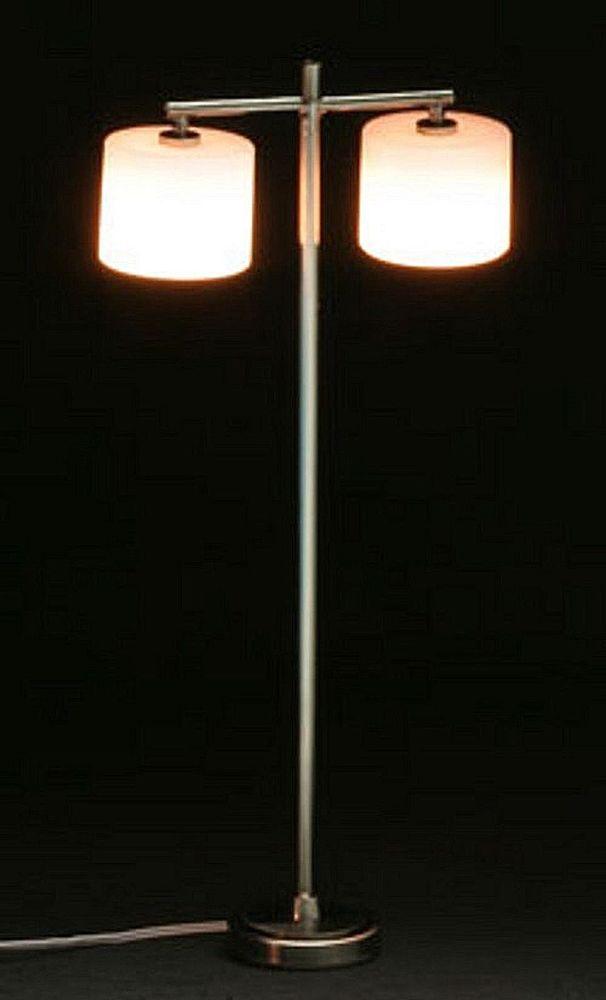 Dollhouse Miniature Floor Lamp W 2 Palace Shades 1 12 Houseworks Lamp Floor Lamp Modern Floor Lamps