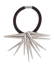 Silver (Silver) Silver Spiked Hair Band | 255202592 | New Look