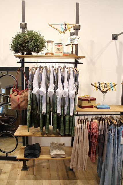 OH my goodness, this girl is a visual merchandiser for Anthropologie, and she blogs about what she creates!