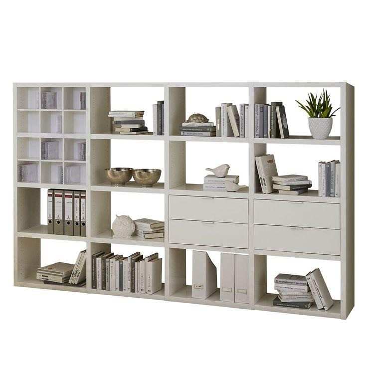 Die besten 25+ Regal weiß hochglanz Ideen auf Pinterest Ikea - Regale Für Wohnzimmer
