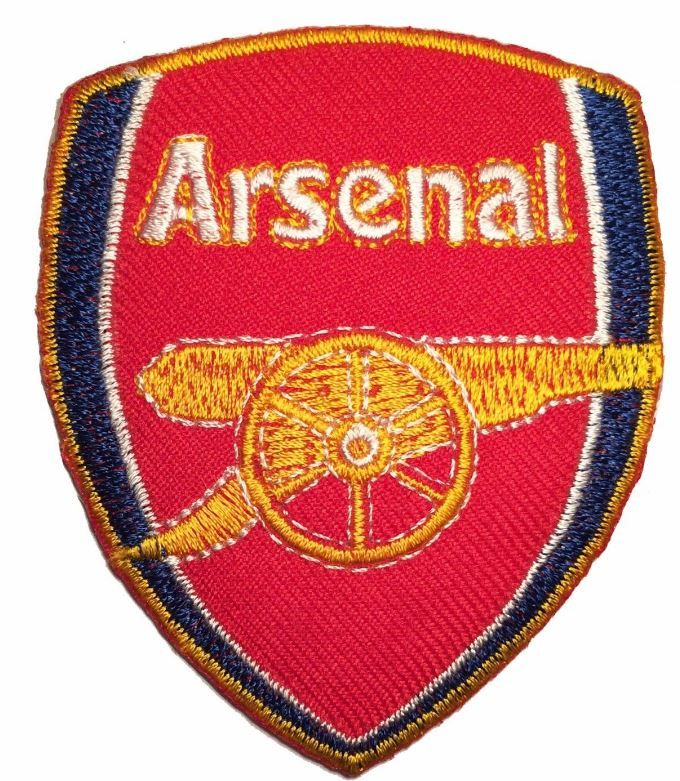 Arsenal soccer football team LOGO EMBROIDERED IRON ON/ SEW PATCH