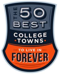 The 50 Best College Towns To Live In... Forever. {Including my hometown's Mississippi University for Women in Columbus!}