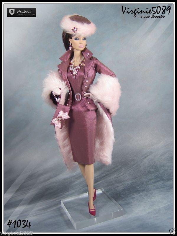 Tenue Outfit Accessoires Pour Fashion Royalty Barbie Vintage 1034   eBay