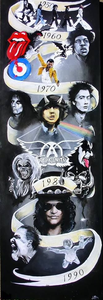 Rock Gods. Just Epic I want this on my wall.