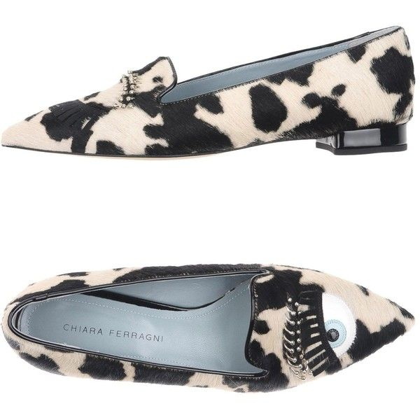 Chiara Ferragni Loafer (475 PLN) ❤ liked on Polyvore featuring shoes, loafers, ivory, zebra shoes, zebra flat shoes, ivory flat shoes, leather shoes and loafer shoes