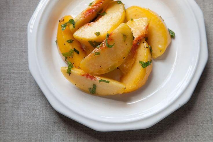 Crook's Corner's Green Peach Salad recipe on Food52