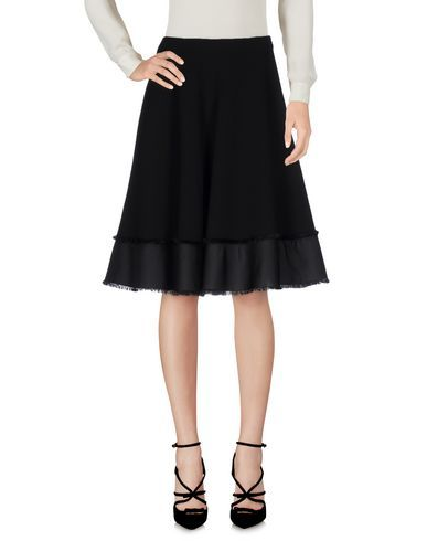 PRADA Knee Length Skirt. #prada #cloth #dress #top #skirt #pant #coat #jacket #jecket #beachwear #