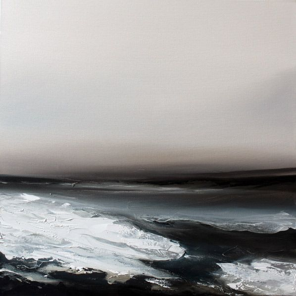 Paul Bennett (UK) - Awake 4. Oil on Canvas, 50cm X 50cm (2010)  [Paul Bennett on ARTchipel