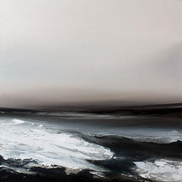 Paul Bennett (UK) - Awake 4. Oil on Canvas, 50cm X 50cm (2010)  [Paul Bennett on ARTchipel