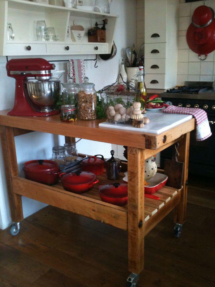 Werkbank, keuken   Keuken inspiratie, Keuken, Keuken maken