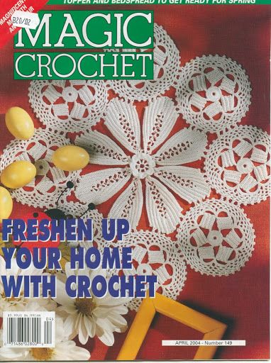 Magic crochet № 149
