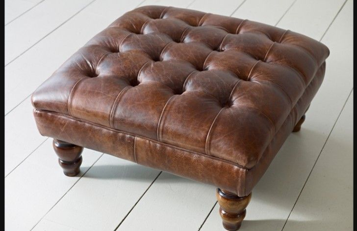With a great range in stock, and custom leathers to choose from, look no further for your new Leather Chesterfield Footstool! Made using the same premium leather hides (sourced from the top 5% of British hides available) as our leather sofas, this is a premium product which reflects this British craftsmanship that has been taking place at our factory for over 50 years.