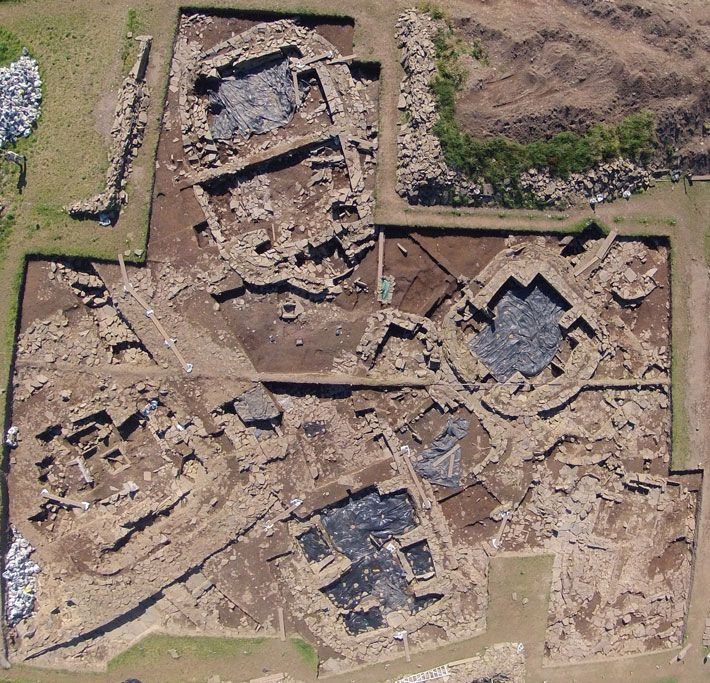 Ness Of Brodgar Neolithic Ceremonial Site Orkney