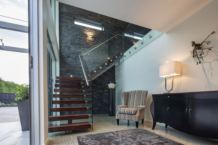 A great modern stair designed by Gary Todd from Gary Todd Architecture #ADNZ #architecture #stairs