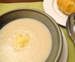 Rockpool's Cream of Cauliflower Soup with Parmesan