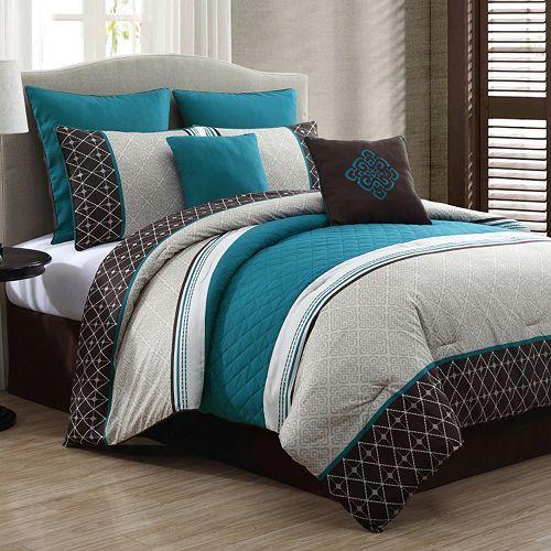 Phyllis 8 Pc Comforter Set Comforters Comforter Sets