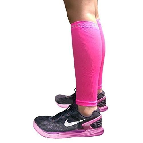 Calf Compression Sleeve - BeVisible Sports Footless Leg Compression Socks for Me #BeVisibleSports