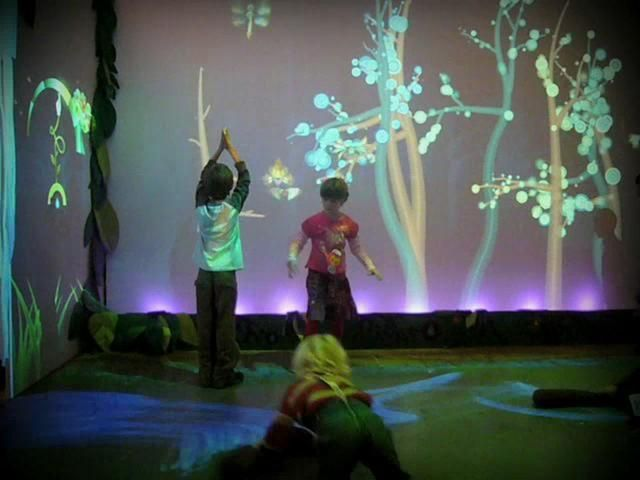 Funky Forest - Interactive Ecosystem. Funky Forest is a wild and crazy ecosystem where children manage the resources to influence the enviro...