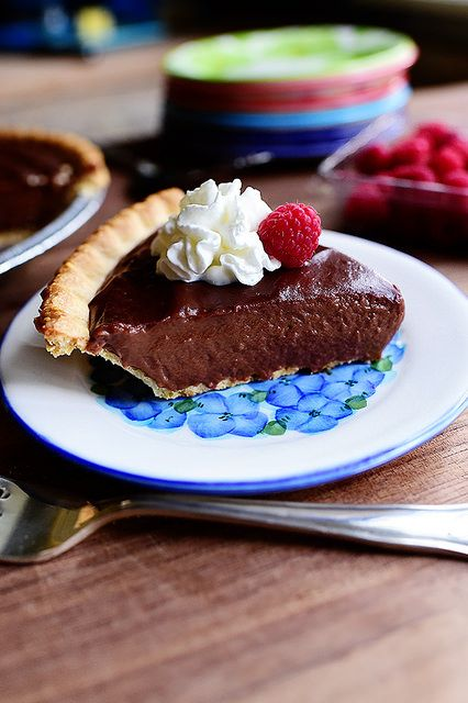 Chocolate Pie--to be turned into a delightful french silk pie (also doubles for chocolate pudding recipe)