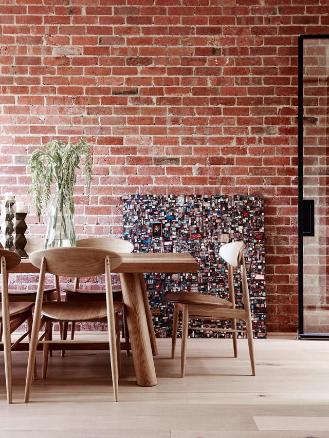 Industrial dining room from a renovated 100-year-old Victorian terrace in Melbourne. Photo: Eve Wilson | Styling: Simone Haag | Story: real living