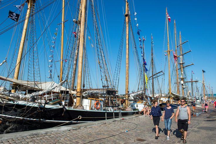 Nordisk sejlads udgår fra skudehavnen