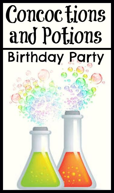 Concoctions and Potions Themed Birthday Party