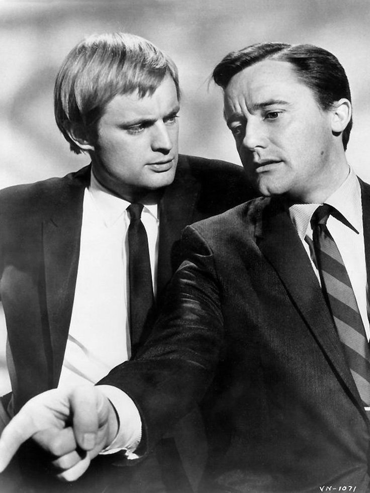 David McCallum & Robert Vaughn in The Man from U.N.C.L.E. (1964-68, NBC) Now David McCallum is Ducky on NCIS!  Can't understand why no one else seems to recognize him.