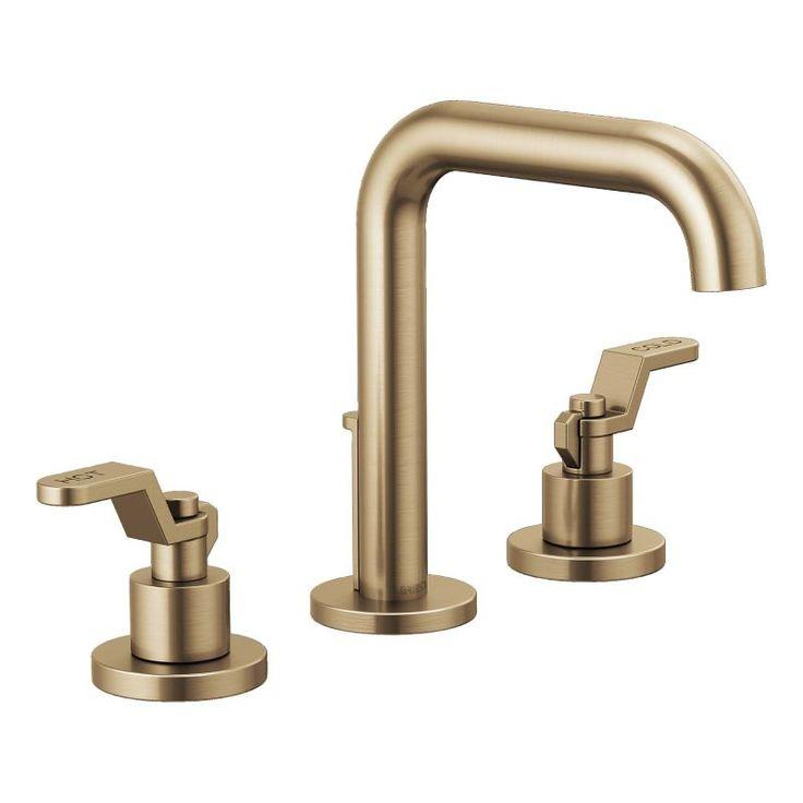 brizo 65335lf-lhp-eco litze 1.2 gpm widespread bathroom faucet