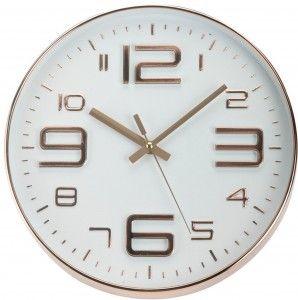 Zegar ścienny miedziany Soren