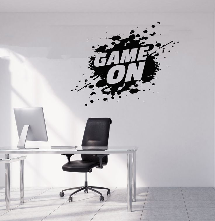 Gamer Wall Decal Gamer Decals Controller Decals Personalized Gamer Room 2907