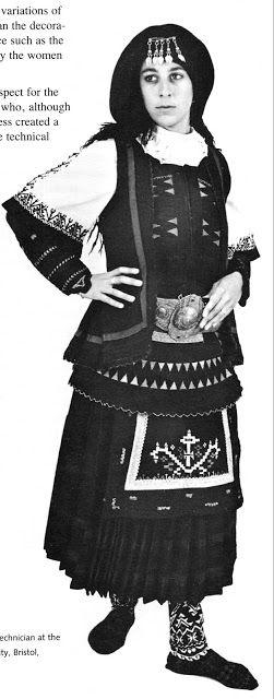 FolkCostume&Embroidery: Costume of the Sarakatsani or Karakachani, Greece