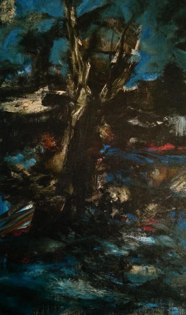 Ronan Barrot, peindre l'espace de la toile.