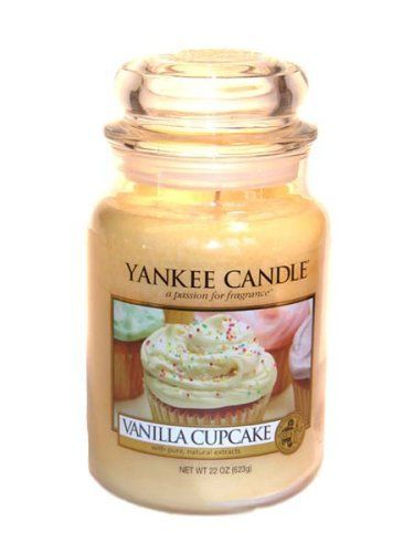 Yankee Candle Vanilla Cupcake Large Jar 22oz Candle by Yankee Candle, http://www.amazon.com/dp/B000X457HO/ref=cm_sw_r_pi_dp_jCjrsb00Q8ZXZ