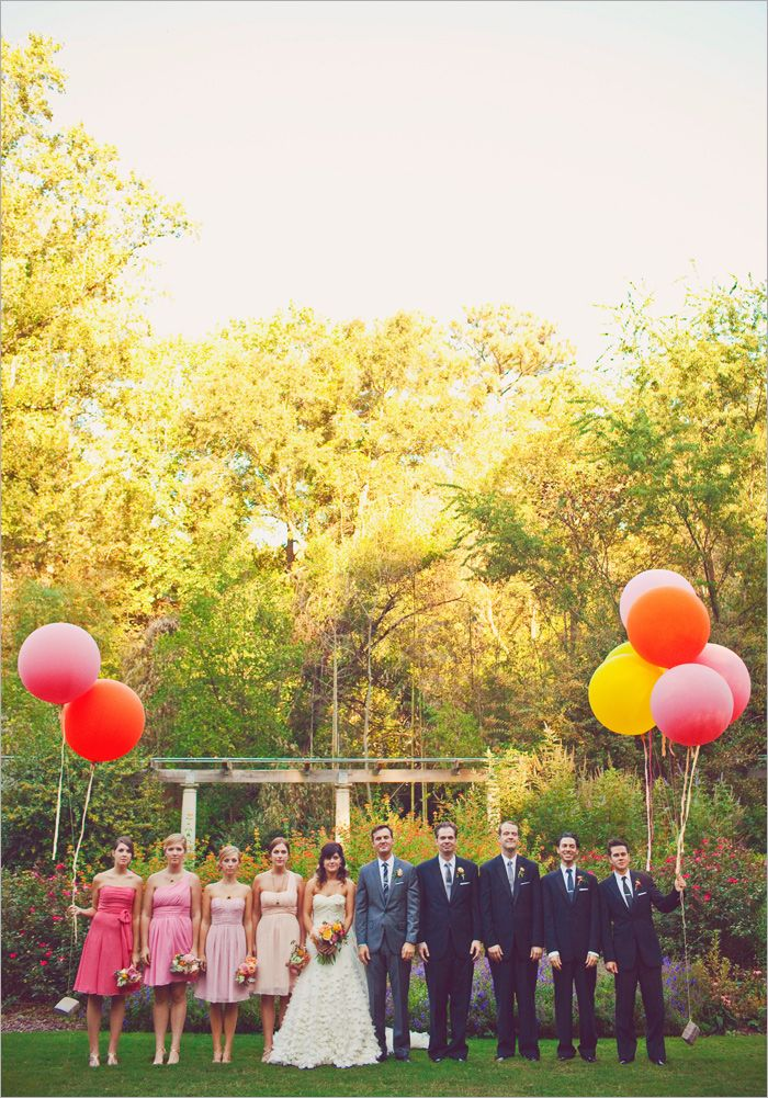 Ombre Wedding Party!