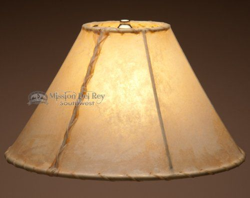 Best Bathroom Light Fixtures | Southwestern Rawhide Lamp Shade 14 ** You can find more details by visiting the image link. Note:It is Affiliate Link to Amazon.