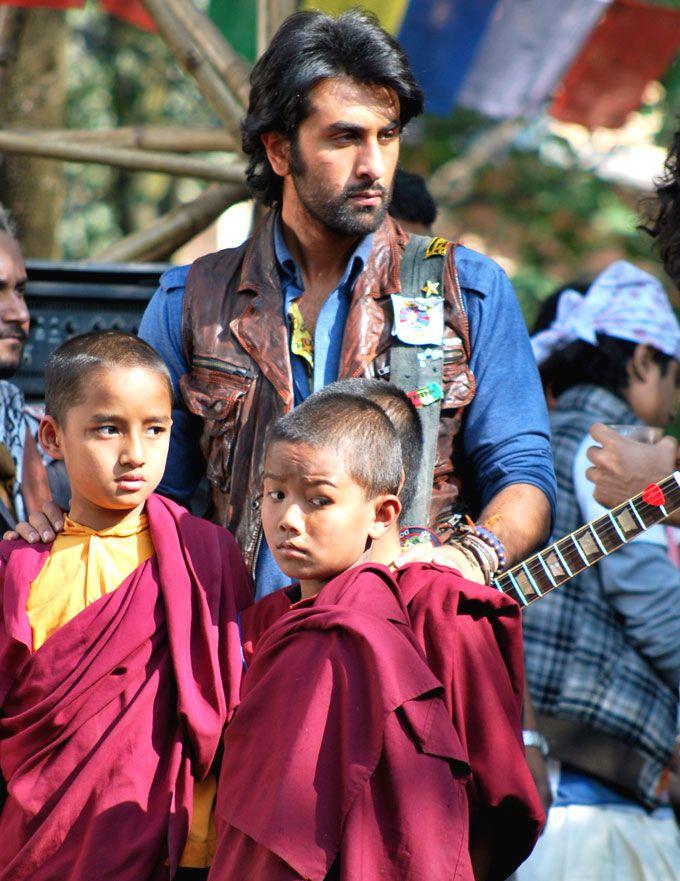 Ranbir Kapoor in Tibet on the sets of 'Rockstar' #Bollywood #Fashion #Style