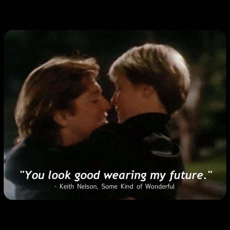 You look good wearing my future keith nelson some for Nice romantic scenes