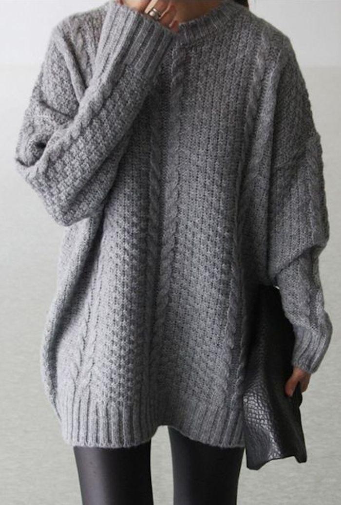 Grey + Oversized