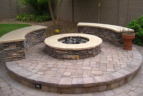 Must build outdoor fire pit.