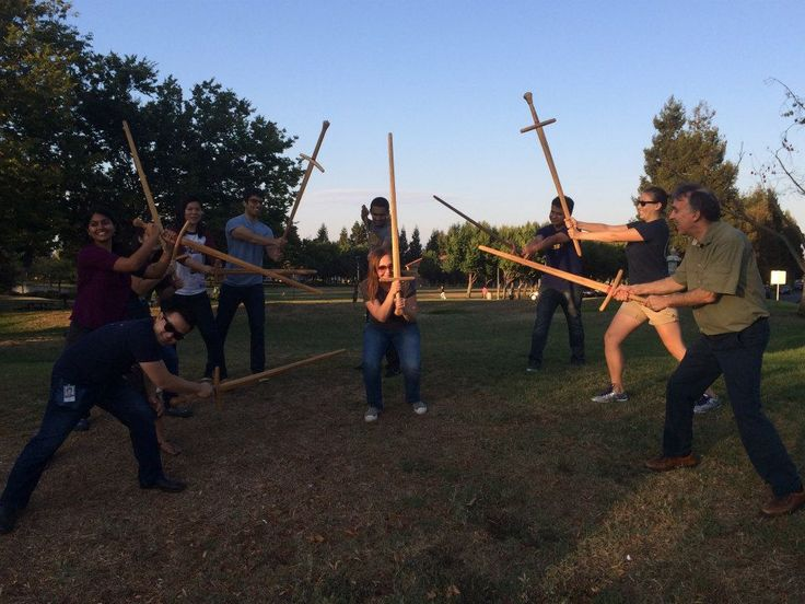 Be a Real Ninja! - Gladiator Games Night