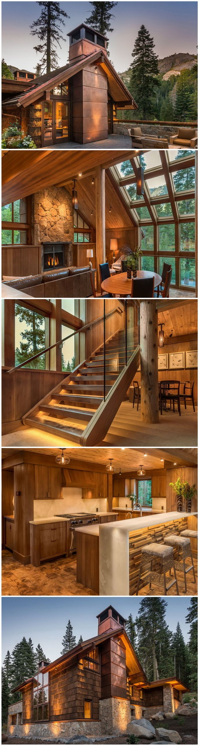 Hazel's Hideaway - Alpine Meadows, CA by OOE Design