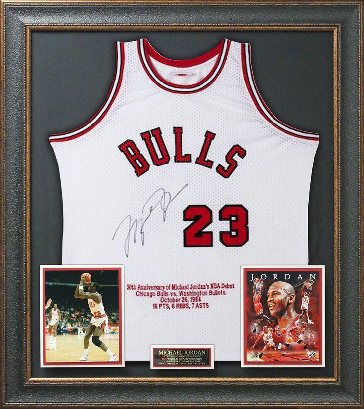 Signature Royale - Michael Jordan Signed Bulls 30th Anniversary Rookie Jersey Display LE of 23. #michaeljordan, #mj, #air, $2,994.95 (http://www.signatureroyale.com/michael-jordan-signed-bulls-30th-anniversary-rookie-jersey-display-le-of-23/)